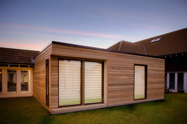 Shedworking can sheds save the nhs for Garden office with side shed