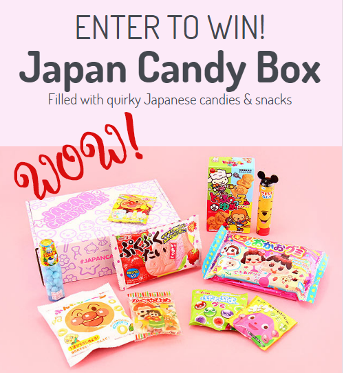 Japan Candy Box GIVEAWAY!
