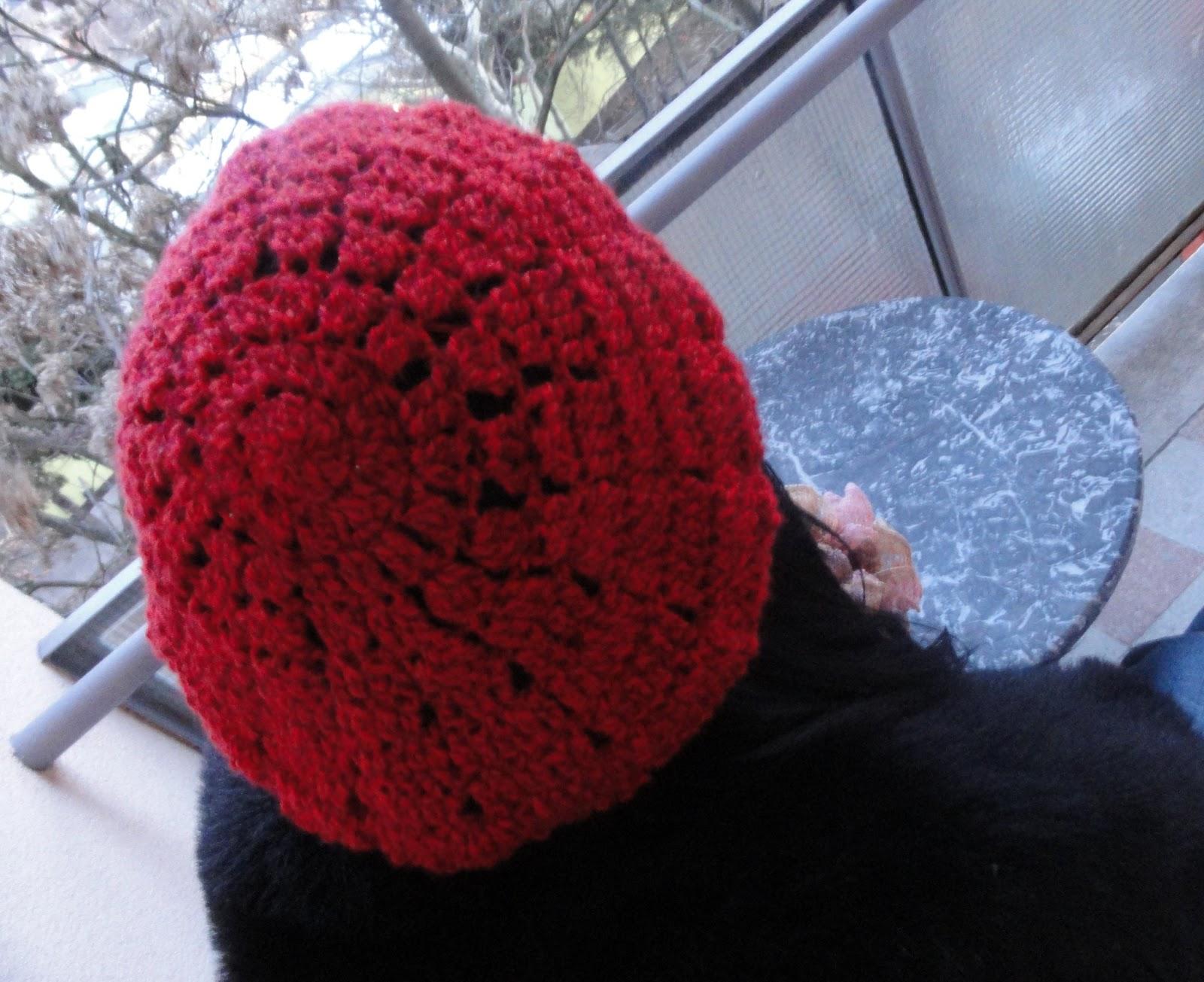Crochet Beret Hat Pattern Easy : hannicraft: Simple beret crochet pattern