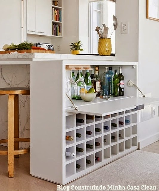 Construindo Minha Casa Clean 21 Bares e Adegas Modernas em Casa! Veja