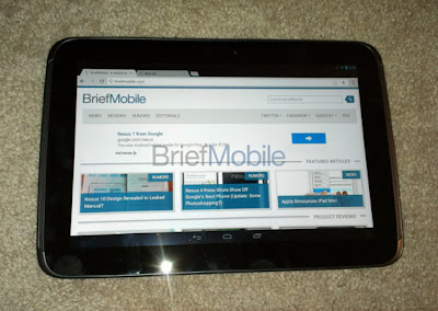 nexus tablet 10 google leaked photos image | new gadgets, upcoming phone, gadget update | Gadget Pirate