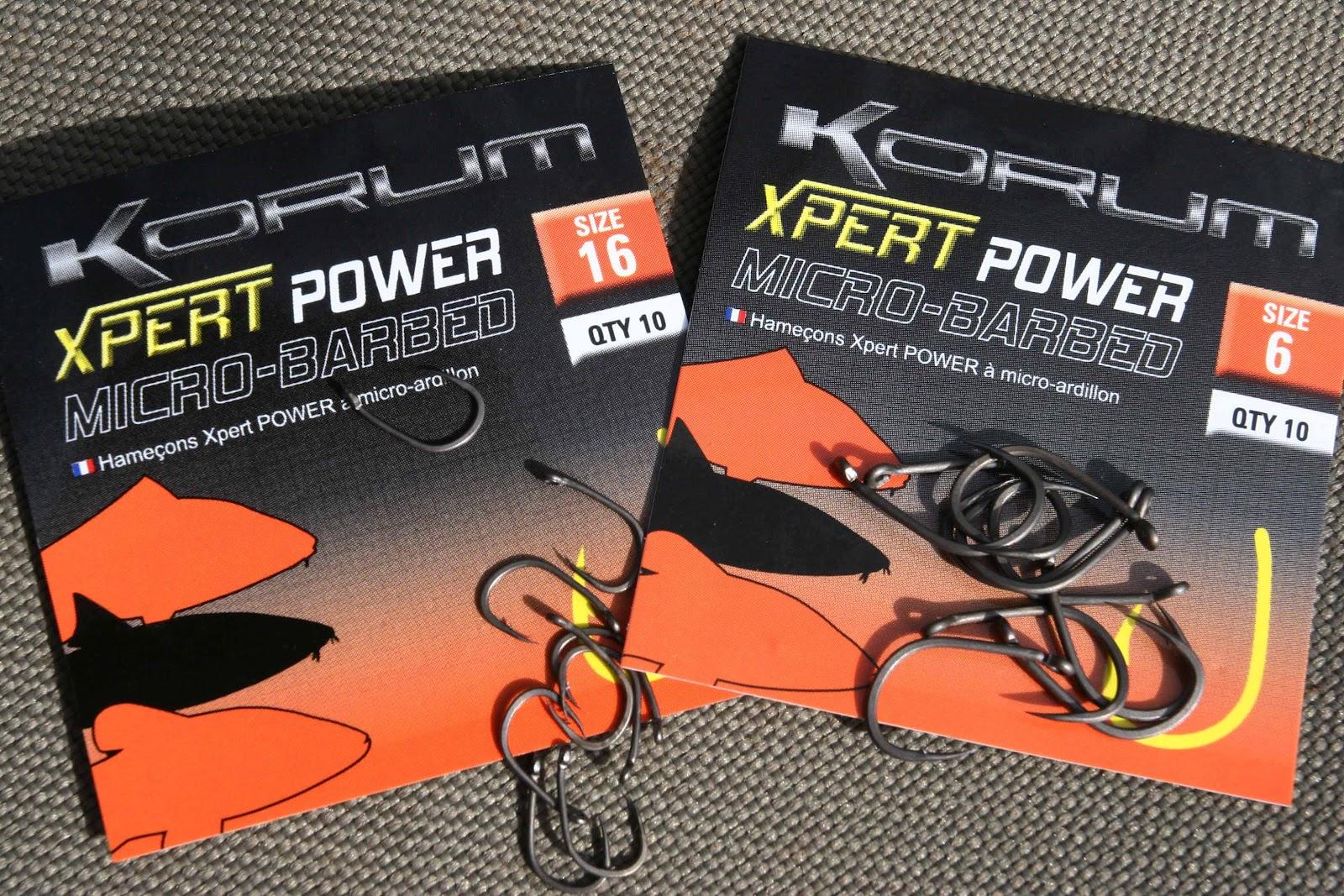 Barbless! Korum Xpert Fishing Hooks Full Range Barbed