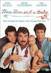 Filme Três Solteirões e Um Bebe Dublado AVI DVDRip