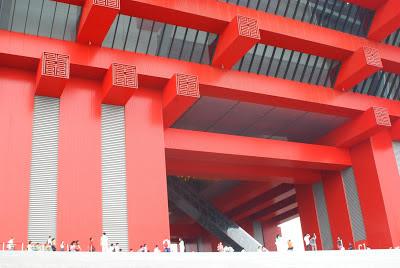 China Pavilion people dwarfed nostalgia big Shanghai Expo