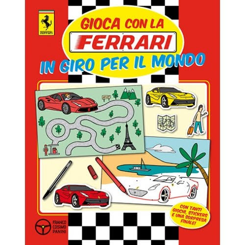 Gioca con la Ferrari in giro per il mondo, Franco Cosimo Panini 2015