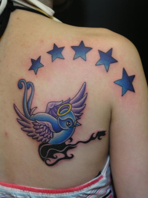 sparrow tattoos-sparrow tattoos for women6#
