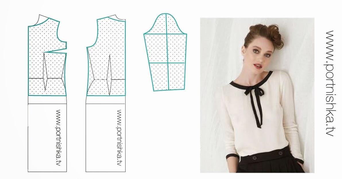Купить Готовую Выкройку Блузки