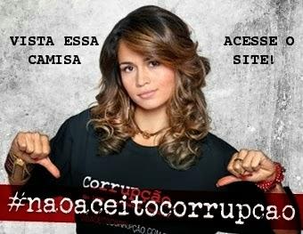 NÃO ACEITO CORRUPÇÃO