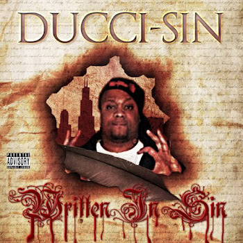 DUCCI SIN WRITTIN IN SIN THE ALBUM COMING SOON