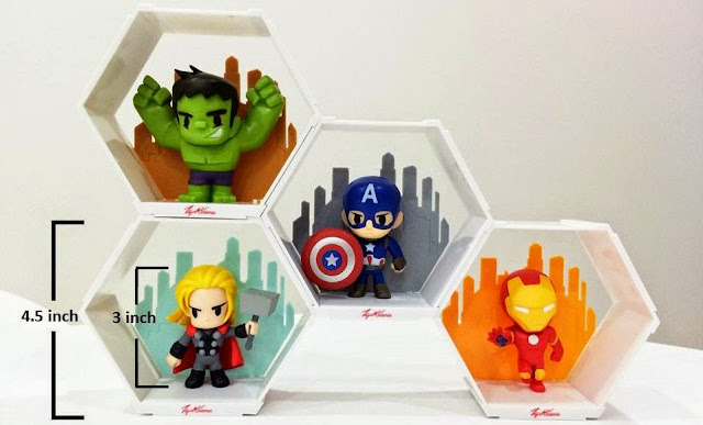 TGV Avengers figurines
