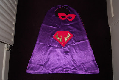 Purple Princess Super Hero Cape