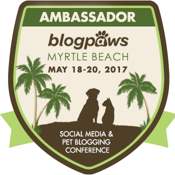 2017 BLOGPAWS CONFERENCE AMBASSADOR!