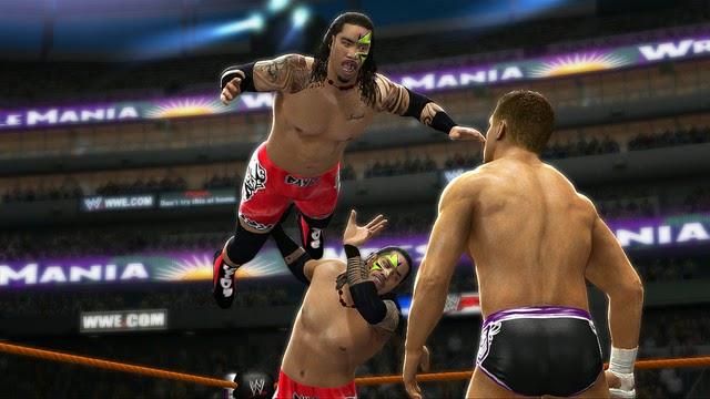 WWE 2K15  RAR  Size: 6 GB