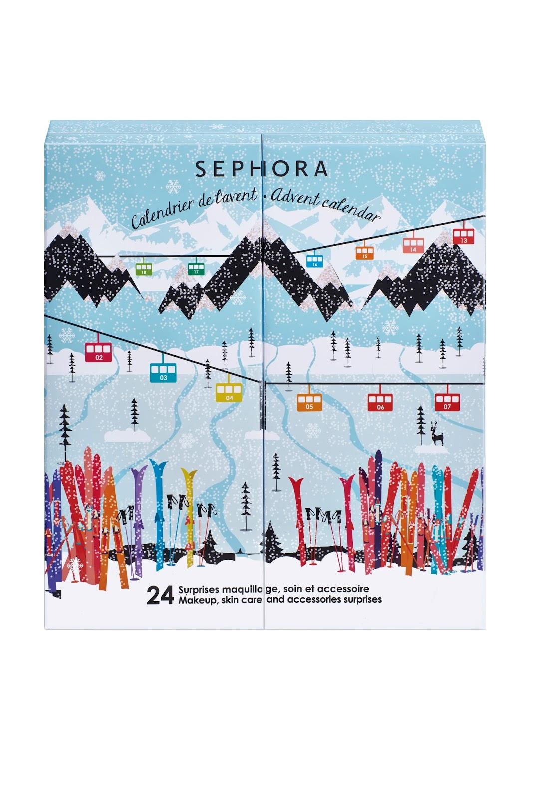 calendrier noel 2018 nocibe De jolis calendriers de l'avent chez Sephora | DAME SKARLETTE calendrier noel 2018 nocibe