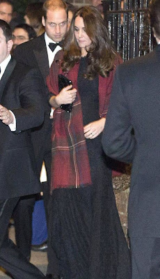 Catherine, Duchess of Cambridge and her husband Prince William attended the wedding of friends