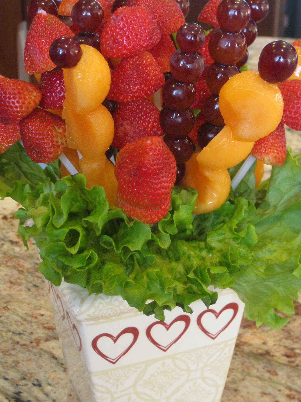 Fruit bouquet a baker 39 s house Fruit bouquet