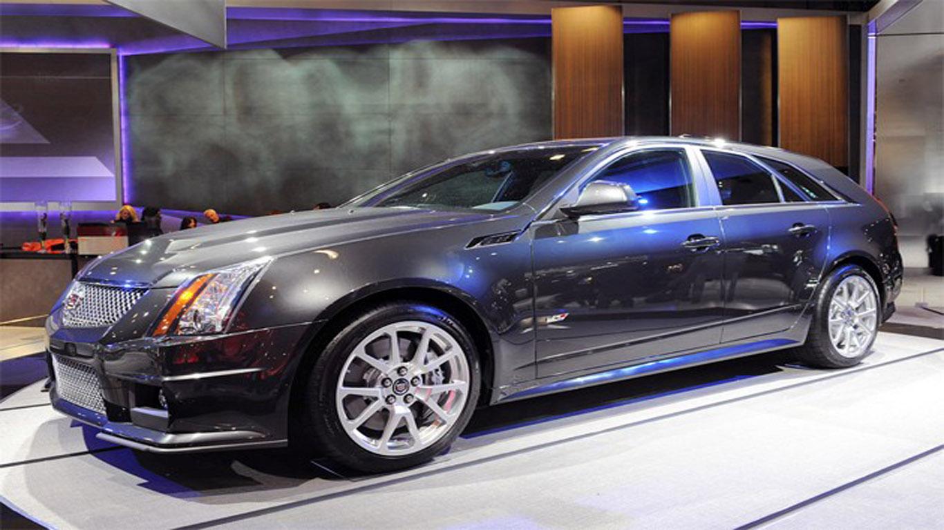 Cadillac Cts V Sport Wagon 2012 A Sporty Family Car
