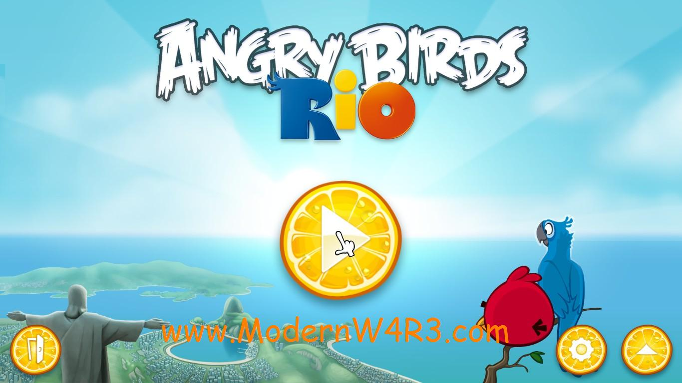 angry bird rio portable. Black Bedroom Furniture Sets. Home Design Ideas