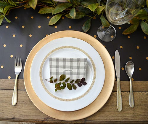 the happy homebodies simple elegant thanksgiving table