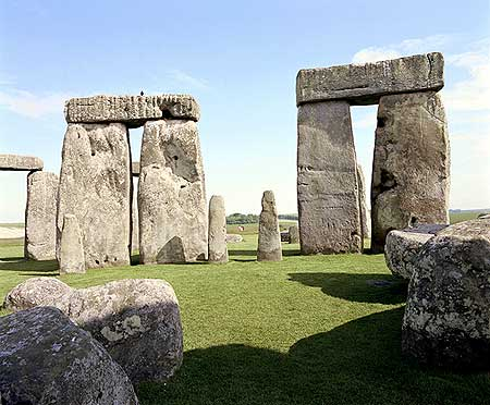 Stonehenge Sunny Day and Shadows
