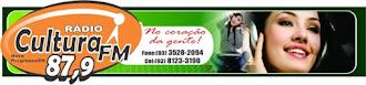 OUÇA A RADIO AQUI, CULTURA FM87.9