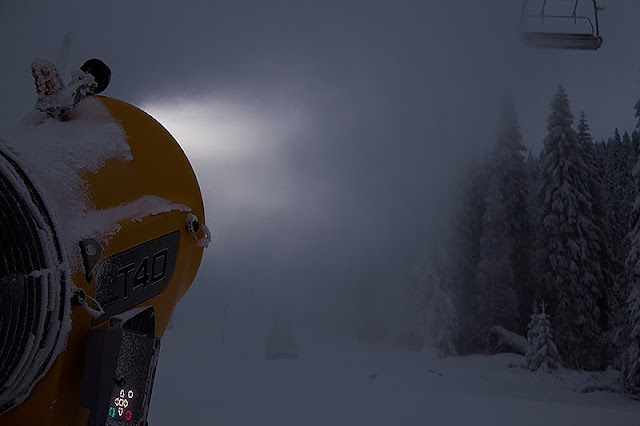 Mašine rade dan i noć kao priprema za ski sezonu