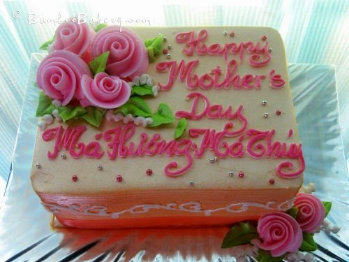 Pickup Day You Can Choose Those 2 Days Friday May 8th Am 6pm Saturday May 9th Am 12pm Your Mothers Day Cake Can Have More Message