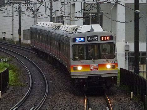 東京急行電鉄大井町線 各停 大井町行き2 8090系