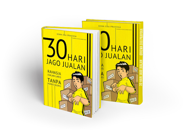 Buku 30 HARI JAGO JUALAN dari Dewa Eka Prayoga