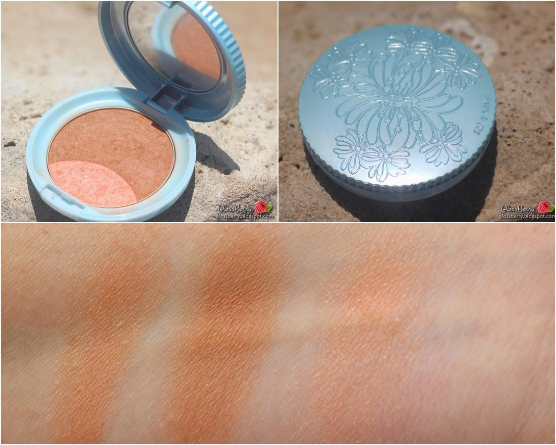 paul joe bronzer swatches blue case פול אנד ג'ו סומק ברונזר