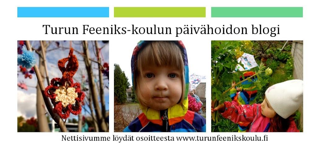 Turun Feeniks-koulun päivähoidon blogi