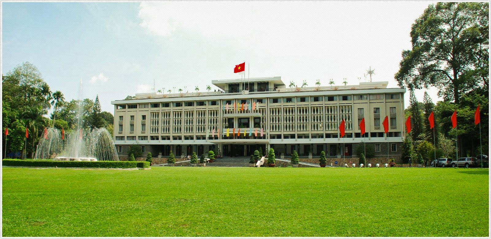 Independence Palace - Dinh doc lap