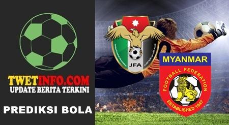 Prediksi Jordan vs Myanmar, Olympic 14-09-2015