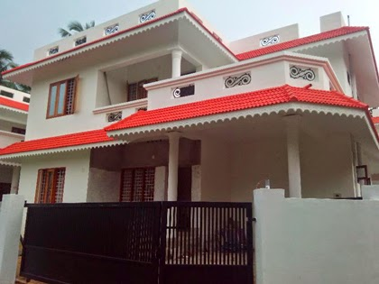 1254 Sq.Ft kerala style House Low Budget House Plan