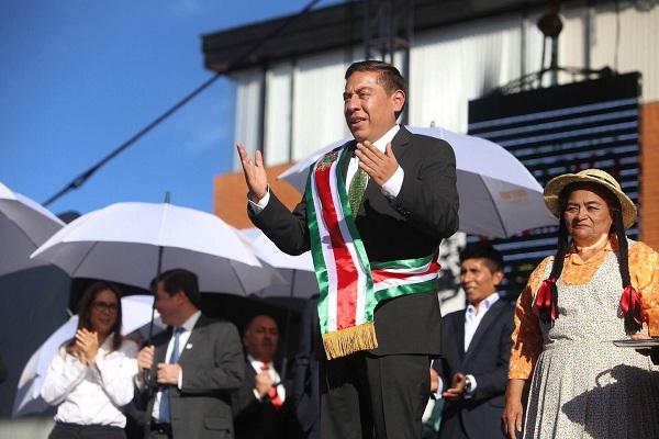 En Sogamoso, Carlos Andrés Amaya tomó posesión como Gobernador de Boyacá