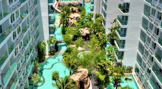 Hotel murah di Pantai Jomtien Pattaya - Amazon Residence Condominium