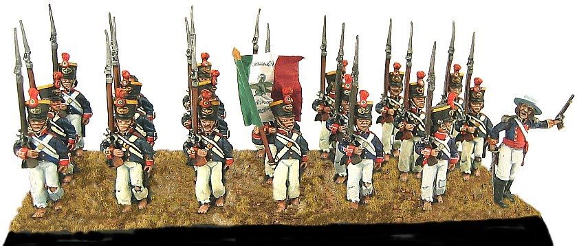 Land of the Lead: SANTA ANNA'S ARMY AT THE ALAMO