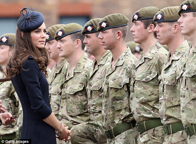 Kate In Command Duchess Of Cambridge Does Dress Uniform