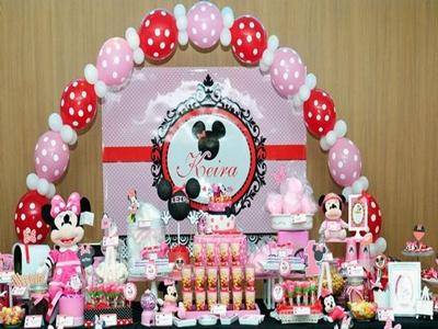 lengkapi ulang tahun pernak pernik minnie mouse | pesta