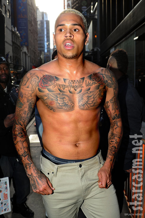 styles ink chris brown tattoos. Black Bedroom Furniture Sets. Home Design Ideas
