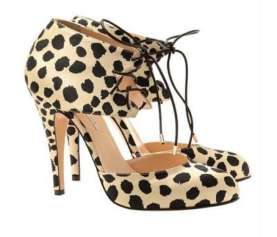 Bionda Castana 'Molly' leopard print heels