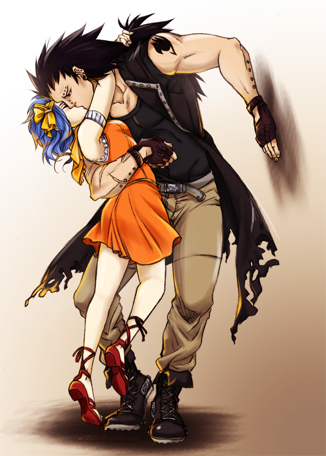 Levy and gajeel anime s blog