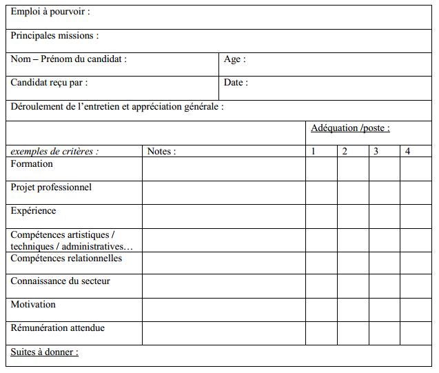 Qcm concours gratuits les preuves du concours de - Grille d entretien semi directif exemple ...