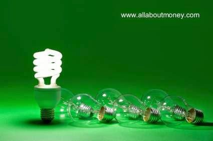 Lámpara eléctrica económica y lámpara incandescentes