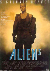 Cartel original de Alien 3