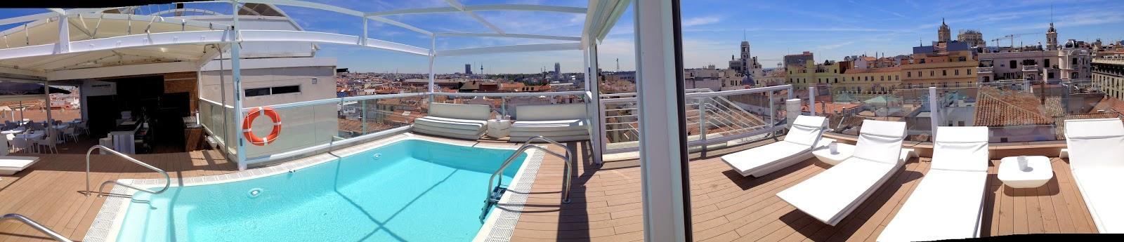 Otium terrazas madrid 2014 iii silencio y glamour en la for Room mate oscar piscina