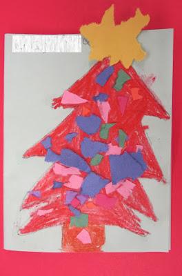 Christmas Card Craft - Renee Dawn - Teacher Ink