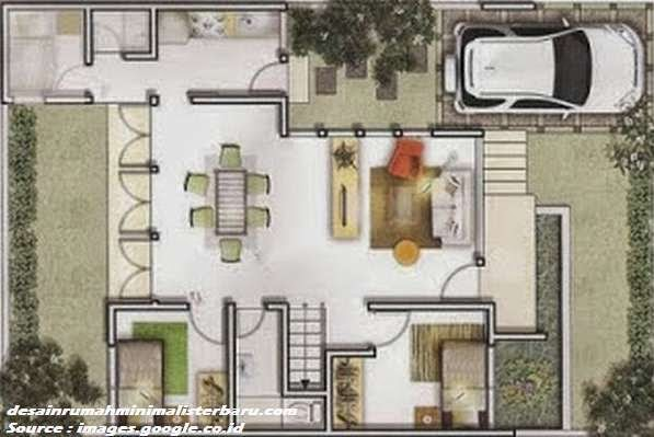 desain rumah minimalis type 45 3