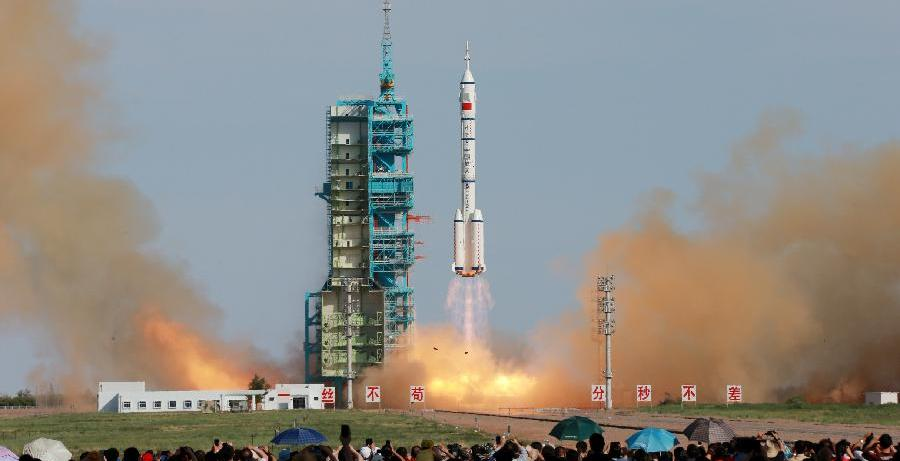 Shenzhou 10 launch. Credit: Xinhua