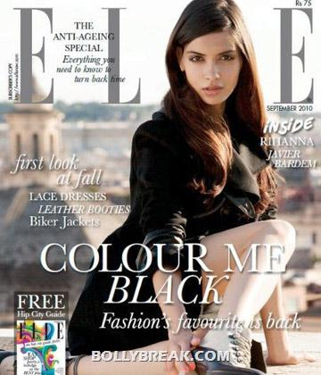 Diana Penty on Elle Magazine CoverPage - (5) - Diana Penty All Magazine CoverPage Scans